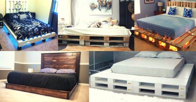 Pallet Bed Frames and Pallet Beds Ideas